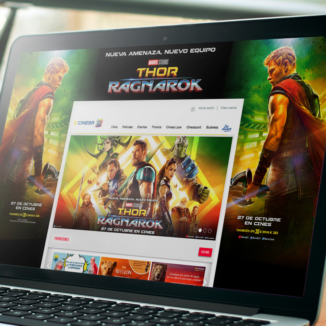 Thor Cinema Web Skin