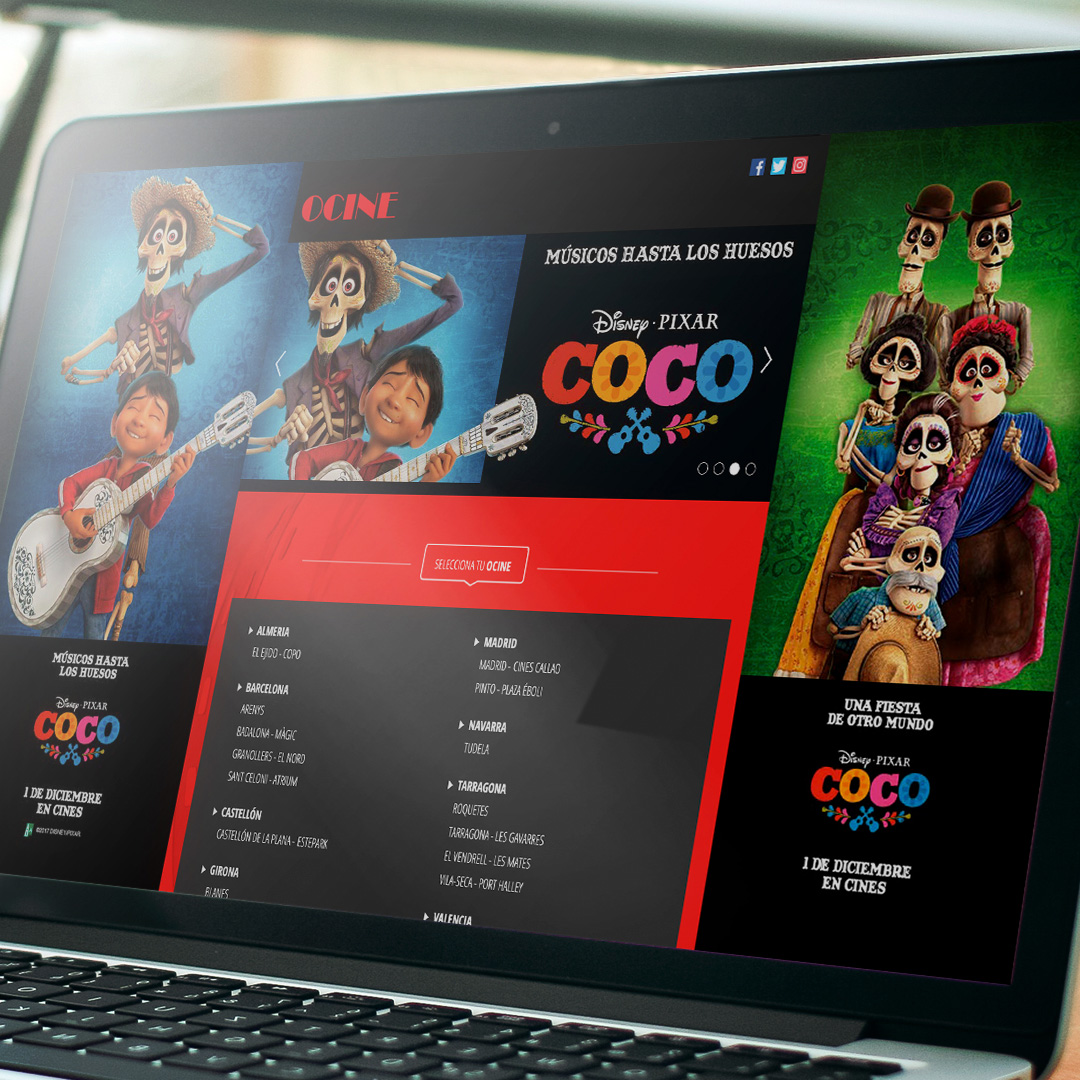 Coco Cinema Web Skin