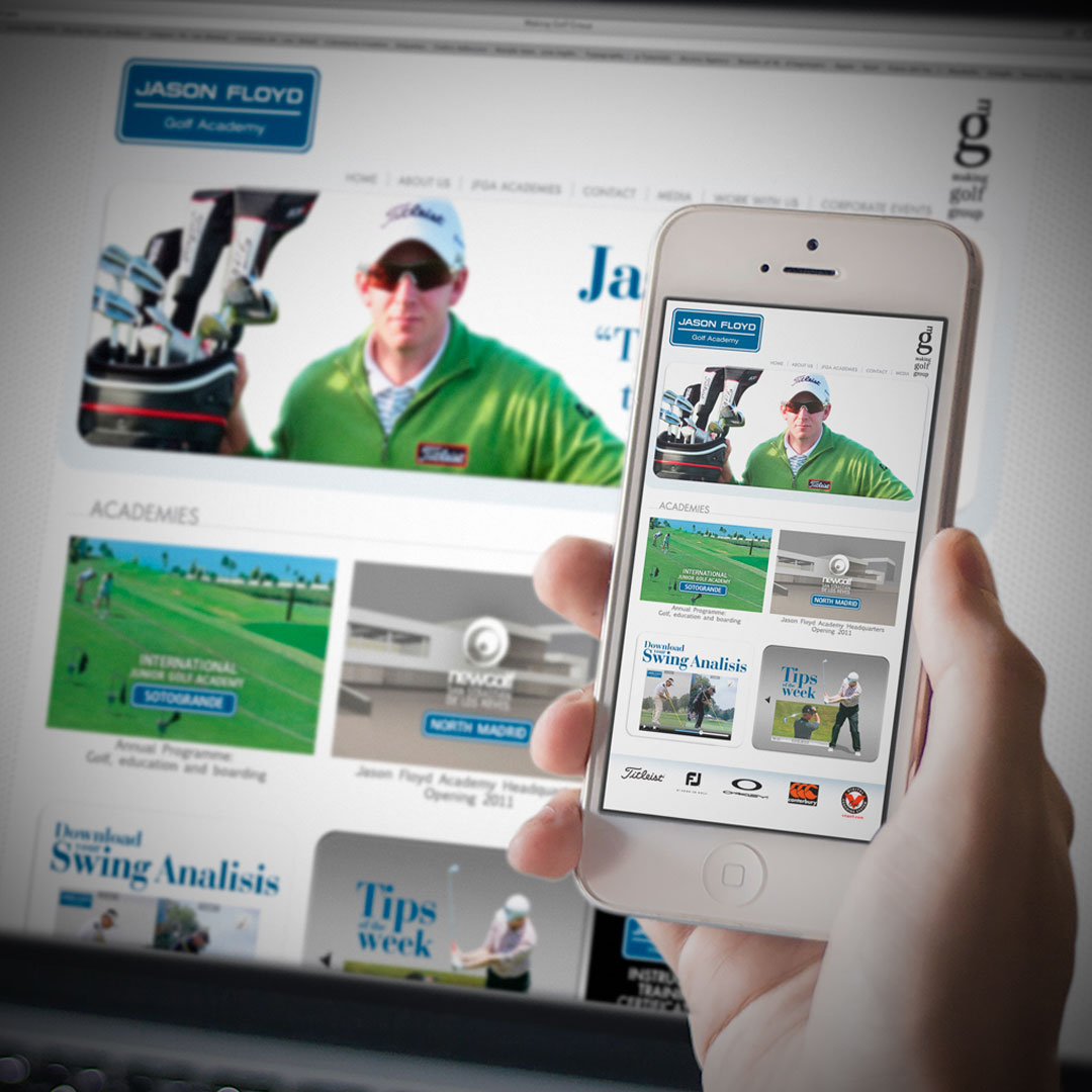 Making Golf Website