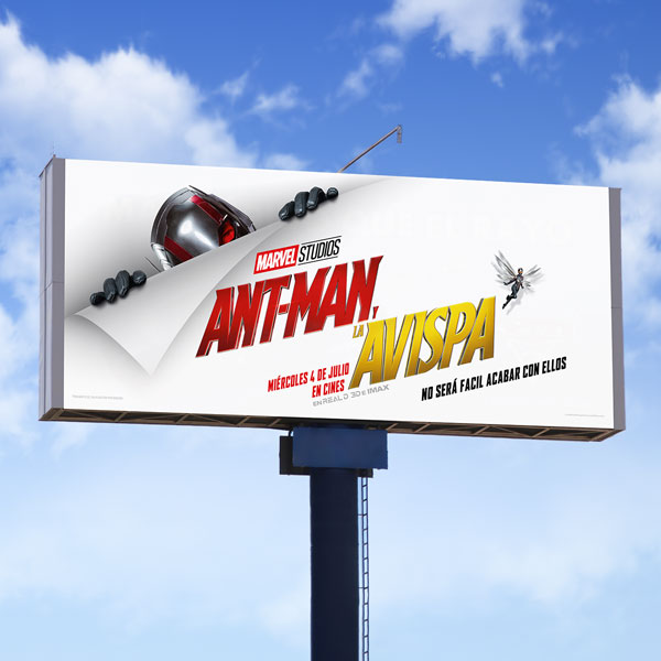 Antman Billboard