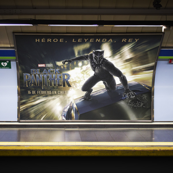 Black Panther Billboard