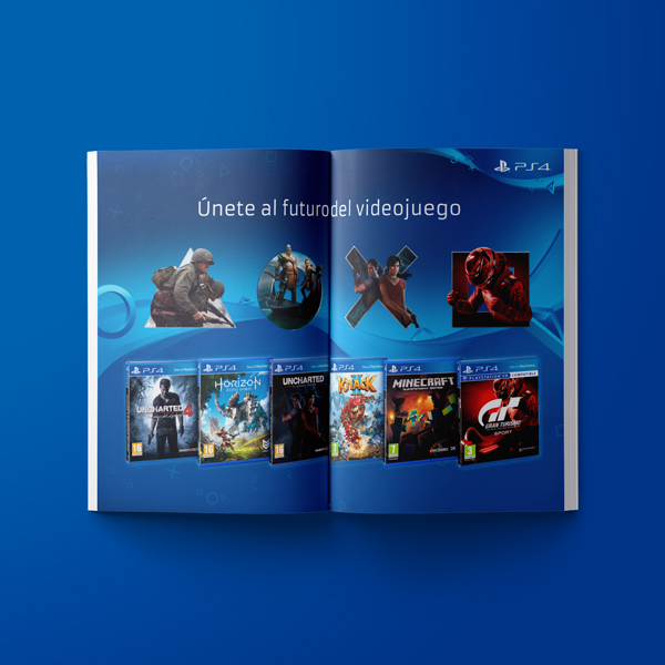 PS4 Magazine Ad